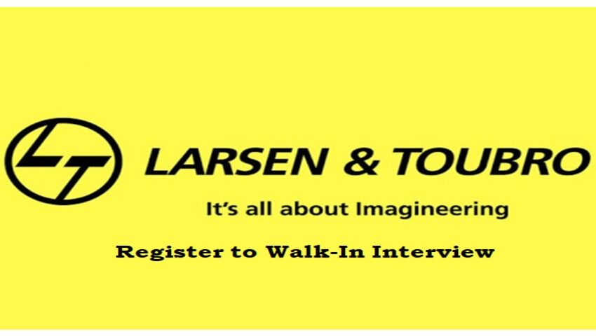 Interview at L&T on 6th Mar 2021 | Exp 0.9 - 5 yrs