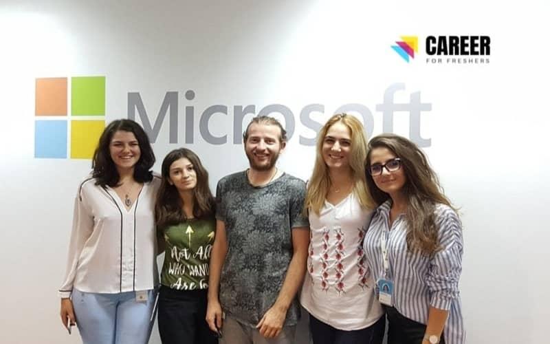 Microsoft Online Internship 2021