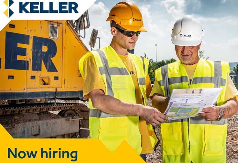 Keller Ltd are Recruiting Graduate Engineers to Join its Core Business