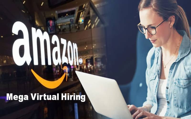 Amazon invite you to take part in Amazon Virtual Hiring Day on August 25th.