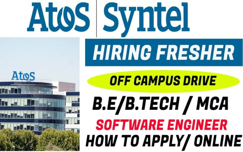 Atos Syntel Off Campus Drive 2021 for Freshers