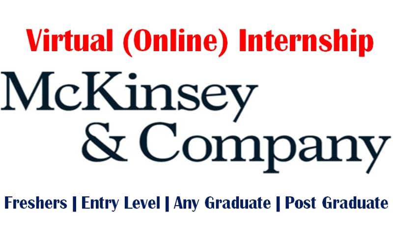 Mckinsey Virtual internship