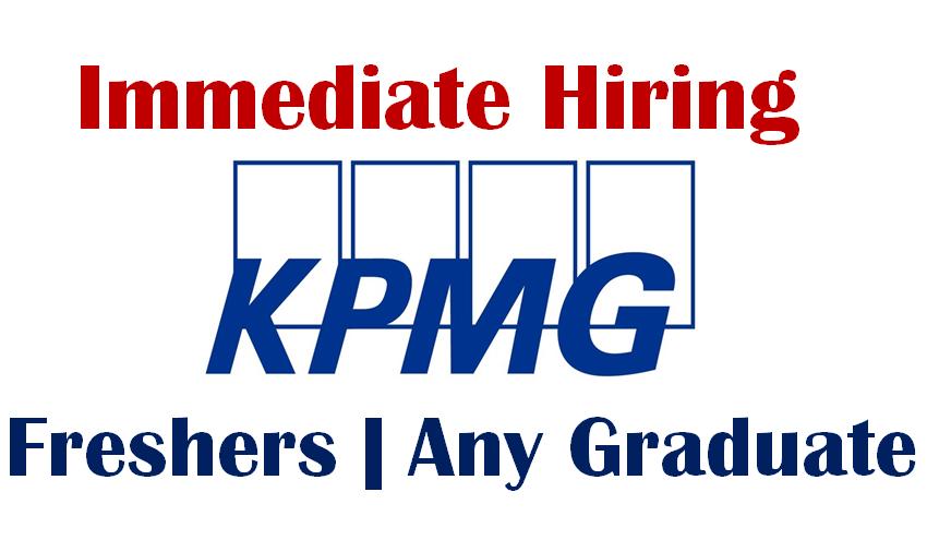 KPMG is Urgently Hiring for Entry Level | Analyst | Any Graduate | 0 - 2 yrs | Bangalore