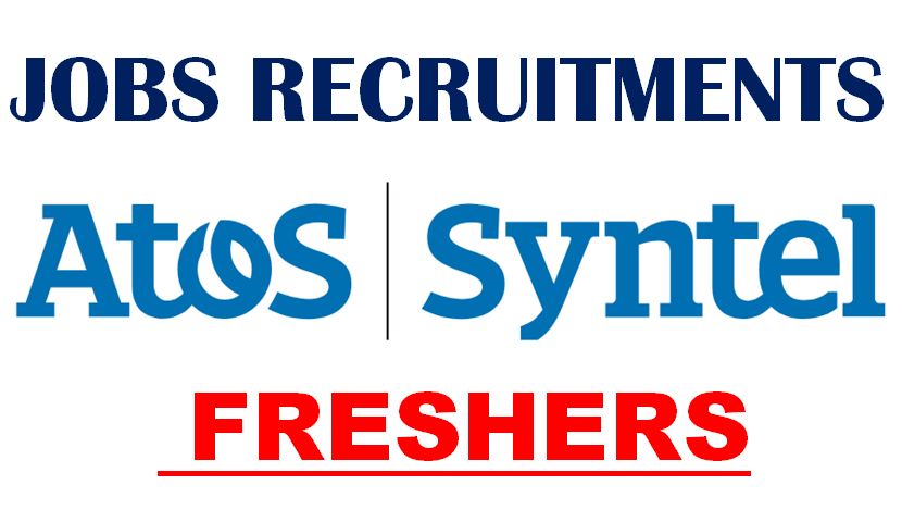 Atos Syntel Jobs Requirements for Freshers