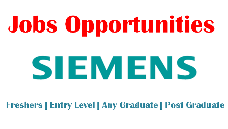 Siemens Jobs Opportunities for Freshers   Any Graduate   0 - 1 yrs   Apply Now