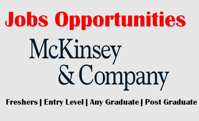 McKinsey Jobs Opportunities for Freshers | Global Helpdesk Analyst | Any Graduate | 0 - 1 yrs | Europe