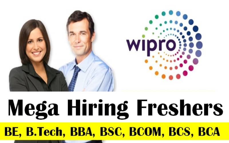 Wipro is Hiring Freshers   Any Graduate   0 - 0 yrs   Apply Now