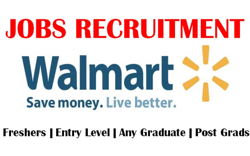 Walmart is Recruiting for Entry Level | Intern/Co-Op/Grad (Trainee) | Operations | Apply Now
