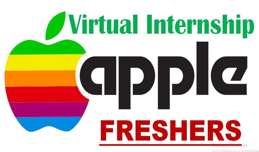 Apple Virtual Internship