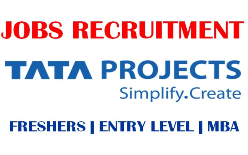 Tata Projects Recruitment 2021 | MBA | PGDM | 0.6 - 4 yrs | Mumbai
